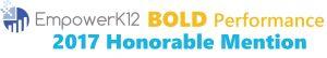 EK12 2017 BoldPerf HonMention